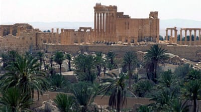The Syrian military is reportedly preparing to launch a counterattack to recapture Palmyra [AP]