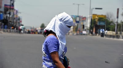 "The government of Andhra Pradesh has declared the situation caused by the heat wave as ""alarming"" [AFP]"