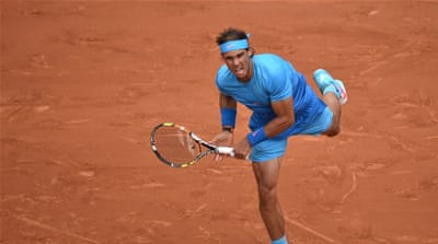 Nadal is a five-time defending champion [Getty Images]