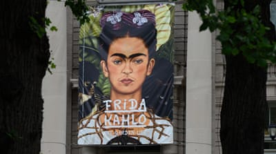 Mexican artist Frida Kahlo used art to overcome her pain [Getty Images]