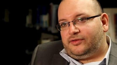Rezaian has reportedly lost 40 pounds (18 kg) in weight while in detention at Tehran's notorious Evin prison [Reuters]