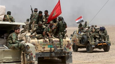 Iraqi security forces are mounting an operation to retake Ramadi city from ISIL [Reuters]