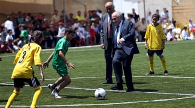 Palestinians await FIFA decision on Israel suspension