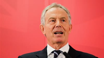 Blair took on the Quartet envoy's role after stepping down as UK prime minister in 2007 [AP]
