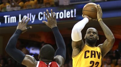 It will be LeBron's fifth Finals in a row, and sixth overall [AP]