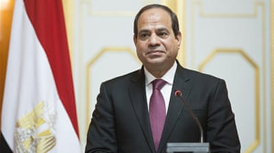 Abdel Fattah el-Sisi, president of Egypt [Getty]