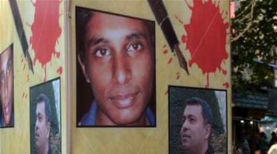 Four bloggers have been killed in Bangladesh since January [AFP]