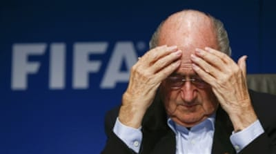 Blatter is yet to be questioned by the FBI or the Swiss authorities [EPA]