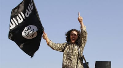 Some 15,000 foreign fighters are said to have gone to the join various groups in Syria and Iraq [Al Jazeera]