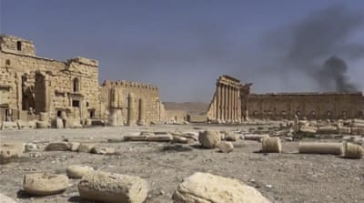 Palmyra caught between two histories