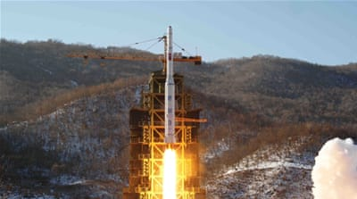 The impoverished North sent an Unha-3 rocket into space in December 2012 from the Sohae satellite launch site [File: AP]