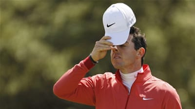 McIlroy sits 150th in the 155-man field [AP]