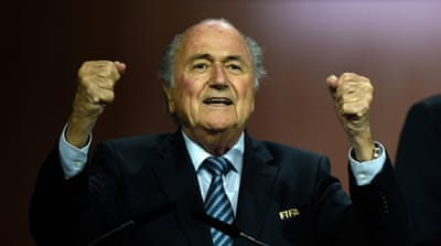 Sepp Blatter wins fifth term as FIFA president
