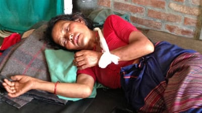 Aid reaches Nepal epicentre, but little relief felt