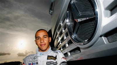 The making of Lewis Hamilton