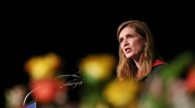 Samantha Power: 'A big pie of security threats'
