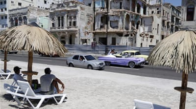 Cuba was removed from the terrorism blacklist as part of the process of strengthening ties between the former Cold War foes [AP]