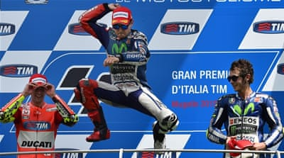 Lorenzo has 112 points after six rounds [Getty Images]