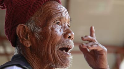 Nepal quake's oldest survivor tells of his ordeal