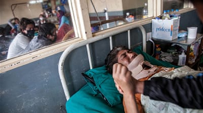 Nepal's hospitals stretched to their limit