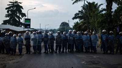 Taking to the streets in Burundi
