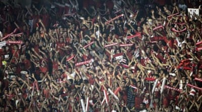 Indonesians rally for football league's restoration