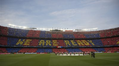 The dispute will also affect the King's Cup final between Barcelona and Athletic Bilbao [Reuters]