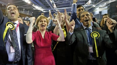 A night of political drama in Glasgow
