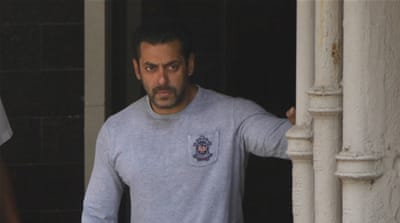 Salman Khan was sentenced to prison over 2002 hit and run case that killed a homeless man [Getty]