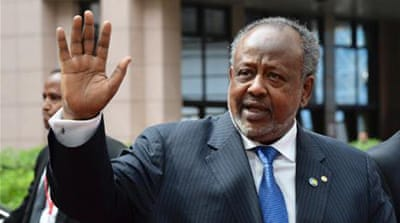 "Guellah has ""welcomed"" China's plan to ""protect its interests"" in Djibouti [AFP]"