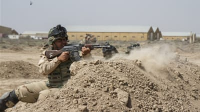 Restoring the Iraqi army's pride and fighting spirit