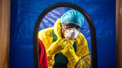 The Ebola outbreak in West Africa has killed more than 11,300 people [EPA]