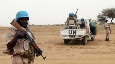 The UN says 35 peacekeepers have been killed in combat since UN peacekeepers' inception in 2013 [File - AFP]