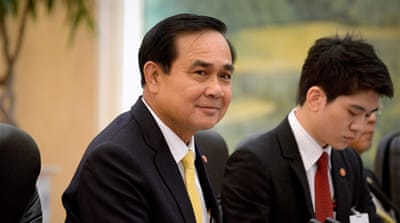Prayuth Chan-ocha: 'No one else could do the job'