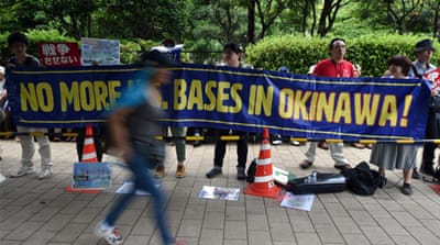 Q&A: Former Japanese PM blasts US base on Okinawa
