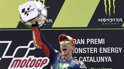 This was Lorenzo's 37th career MotoGP victory  [Getty Images]
