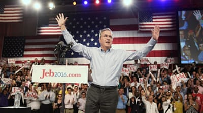 Jeb Bush has name recognition but that could also hinder his campaign [Getty Images]