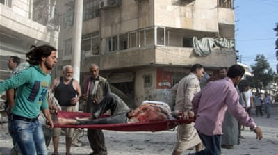 Syria's five year conflict has killed at least 230,000 people, while millions of others have been displaced [File:Getty Images]