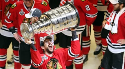Blackhawks were down 2-1 in the Final series [Getty Images]