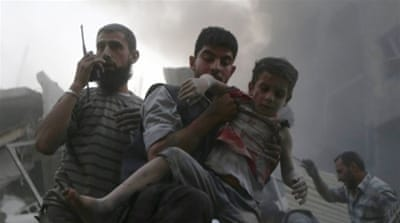 Syrians recount horror of chemical attacks on civilians