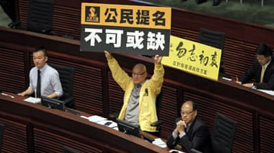 Hong Kong begins debate on electoral reform plan