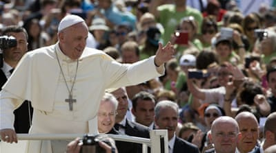 Pope puts US Republicans in a corner on climate change