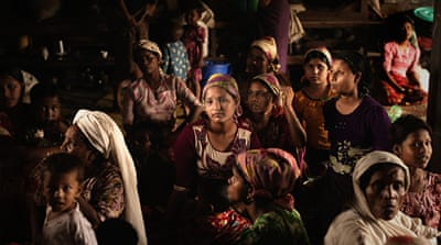 Myanmar fighting spurs mass displacement