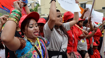'We are workers, not slaves'