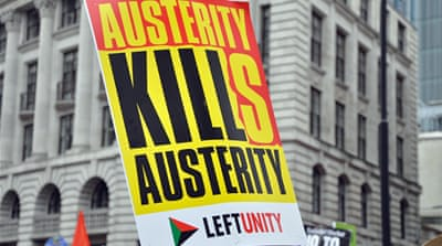 250,000 rise up against austerity plans in the UK