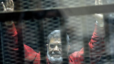 No former Egyptian president before Morsi has ever worn the red outfit before [AP]