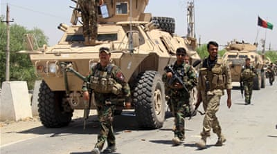 Afghan army moves to retake key district