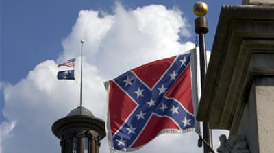 US governor calls for Confederate flag to be removed