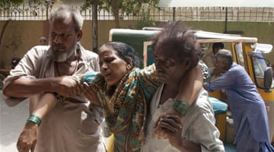 Up to 700 dead as Pakistan reels under blistering heat