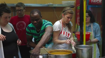 Refugees in Croatia cook their way into inclusion